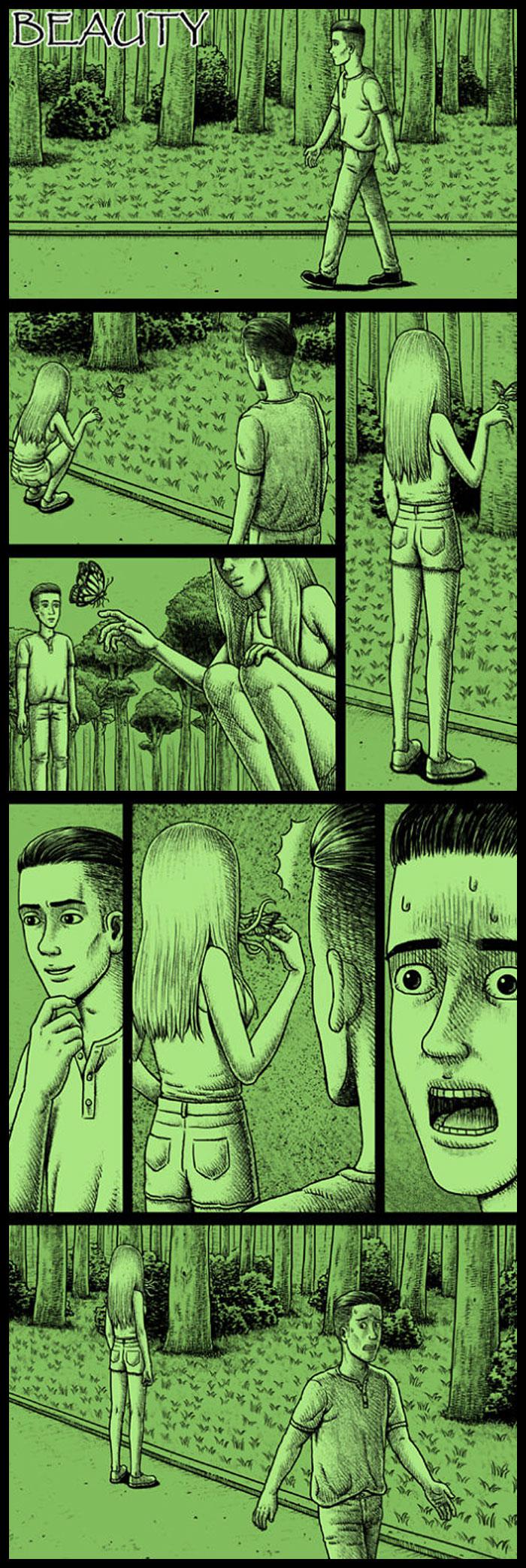 Фото №11 - 30 комиксов с отборным черным юмором от Бена Чена