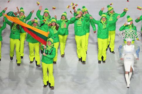 Олимпиада, Олимпийские игры, Сочи-2014, Литва