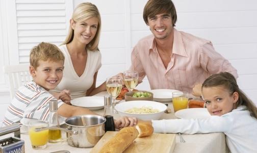Фото №1 - Лучшая диета – ужин с родными
