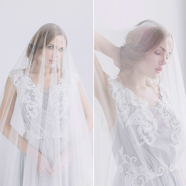 Фото №2 - Идеальная невеста: как подобрать свадебную фату
