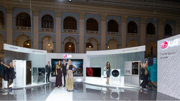 Фото №1 - Высокие технологии  LG для высокой моды