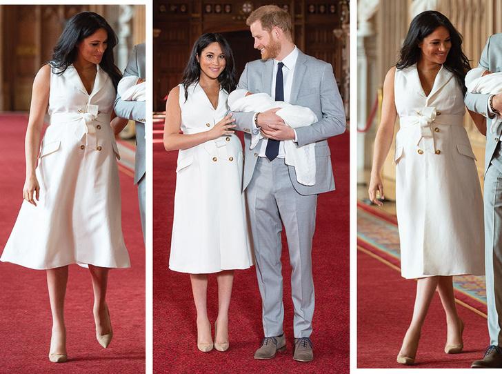 Фото №1 - 5 двубортных платьев, как у герцогини Меган на официальном фотоколле
