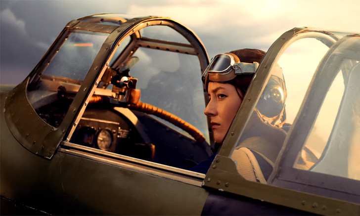 Фото №1 - Тизер фильма «Литвяк» про русскую летчицу-аса