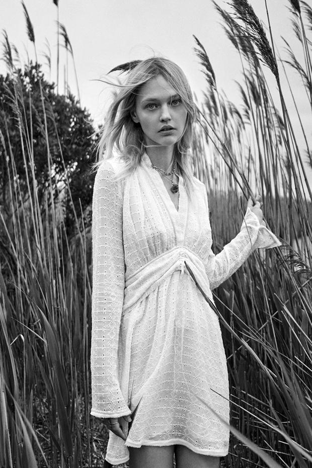 Фото №2 - Российская супермодель Саша Пивоварова в чарующей белоснежной рекламной кампании Zara