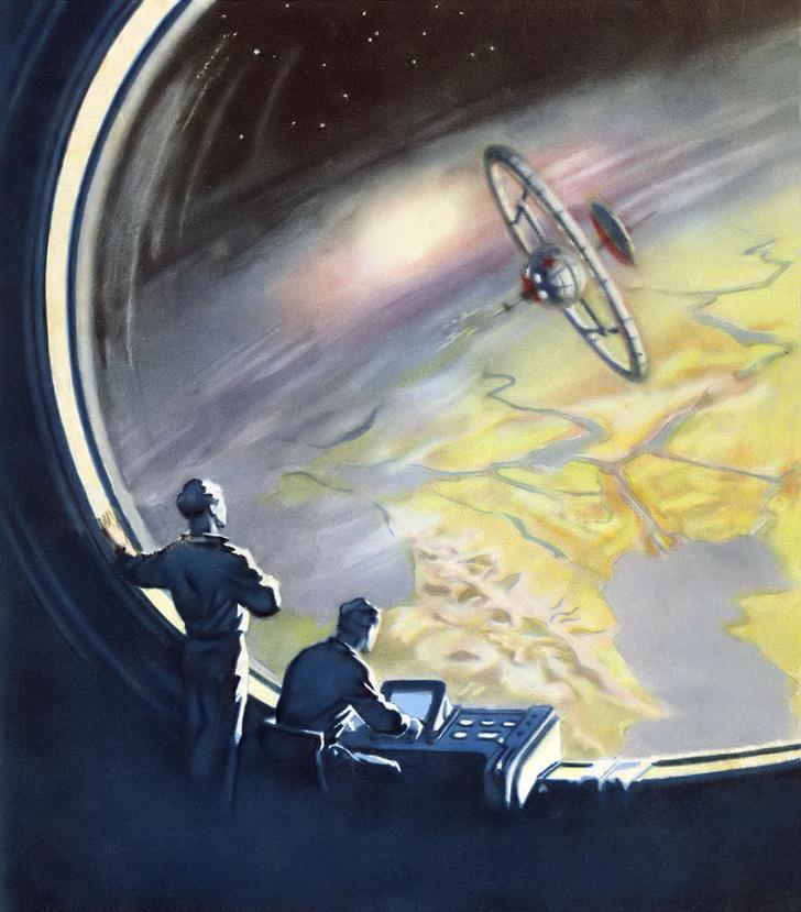 Фото №1 - Конспиративные теории прошлого: инопланетный шпионский спутник «Черный принц»
