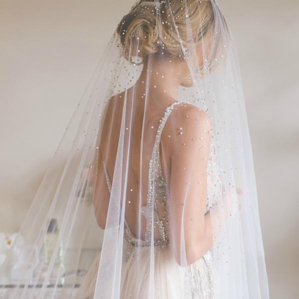 Фото №5 - Идеальная невеста: как подобрать свадебную фату