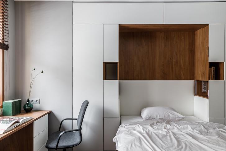 Фото №10 - Квартира 124 м² для искусствоведа и ученого в Химках