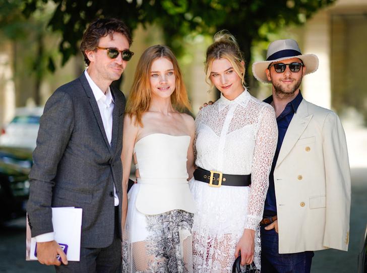 Фото №1 - Карли Клосс, Наталья Водянова и другие на кутюрном показе Dior FW18-19