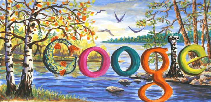 Фото №3 - «Дудл для Google — 2015»: 30 лучших рисунков