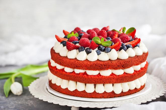 простой крем для торта