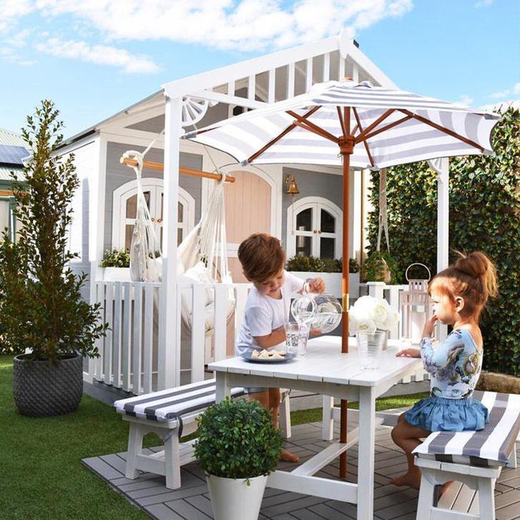 Фото №3 - Дети на даче: игровые домики в саду
