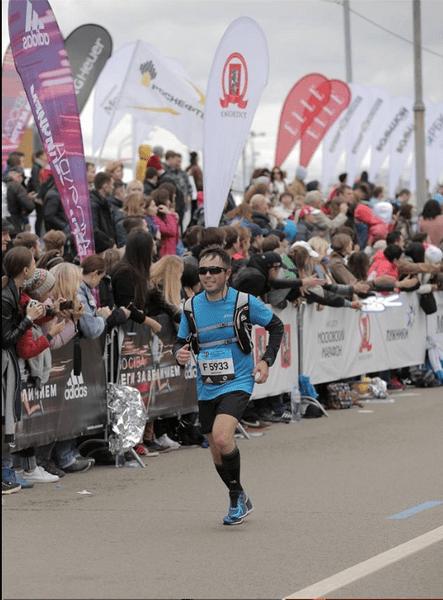 Фото №1 - Московский марафон: одним из 30 тысяч участников стал пензенец