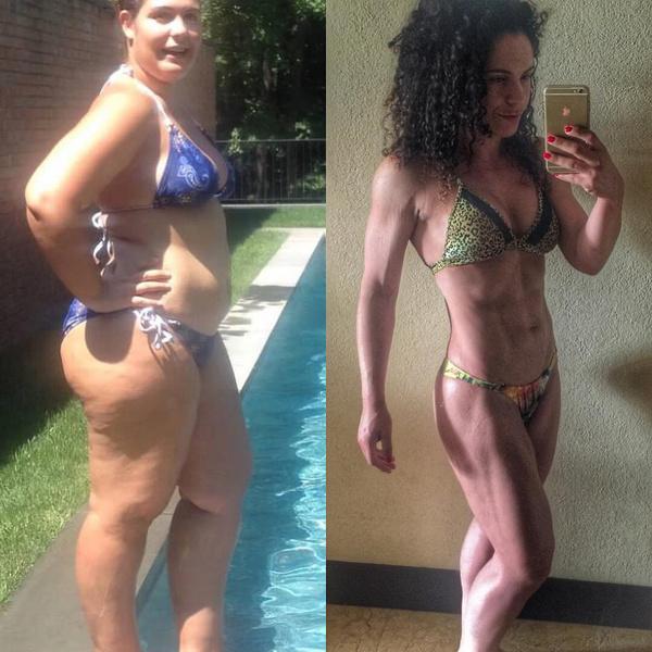 Мама двоих детей похудела на 50 кг!