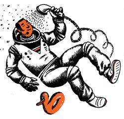 Фото №1 - Как моются космонавты?