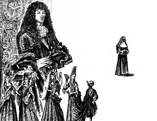 Фото №1 - Мавританка из Морэ — чернокожая дочь Людовика XIV?