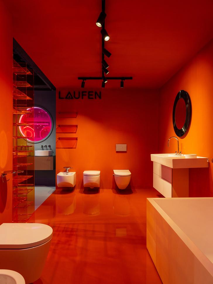 Фото №4 - В розовом свете: новый шоурум Laufen