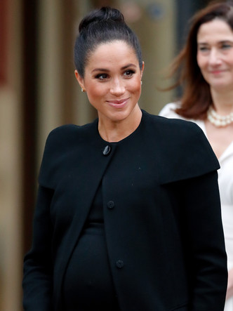Фото №20 - Демократичная герцогиня: 10 лучших причесок Меган на каждый день