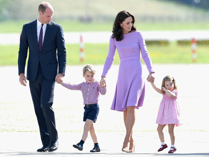 Фото №7 - Мамина дочка: 11 раз, когда Кейт и Шарлотта появлялись в парных образах