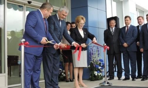 Фото №1 - Скворцова открыла завод по производству вакцин от гриппа в Петербурге