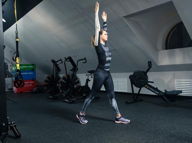 Фото №9 - Катерина Шпица: секреты красоты и комплекс упражнений для хорошей формы