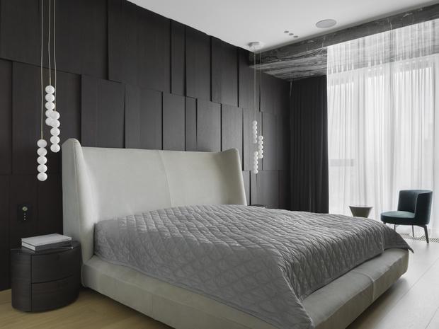 Фото №8 - Московская квартира 222 м² в стиле роскошный минимализм