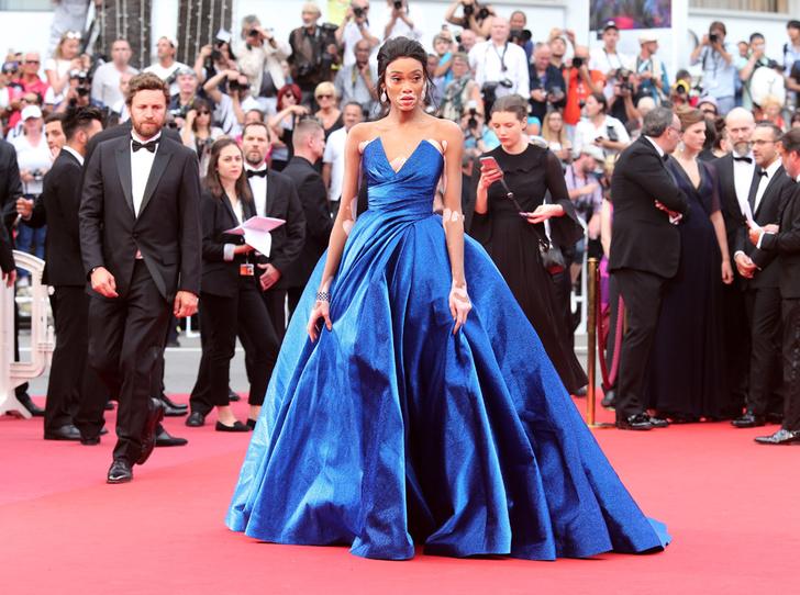 Фото №19 - Модные Канны-2017: Винни Харлоу, Адриана Лима и другие красавицы вечера премьер 18 мая