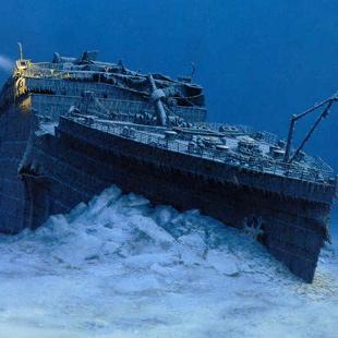 Фото №1 - Титаник затонул из-за пожара