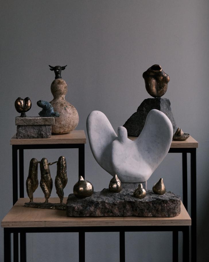 Фото №1 - Выставка петербургских скульпторов в Flor et Lavr Gallery
