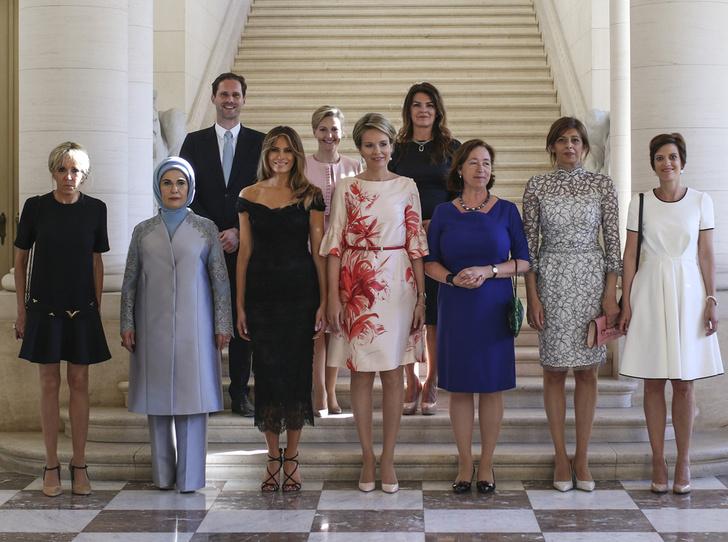 Фото №2 - G7 в Брюсселе: как выглядят первые леди европейских государств