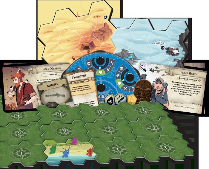 Фото №2 - Как остаться в живых на необитаемом острове: запуск новой игры издательства Hobby World