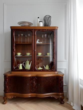 Фото №6 - Современная квартира с винтажной мебелью