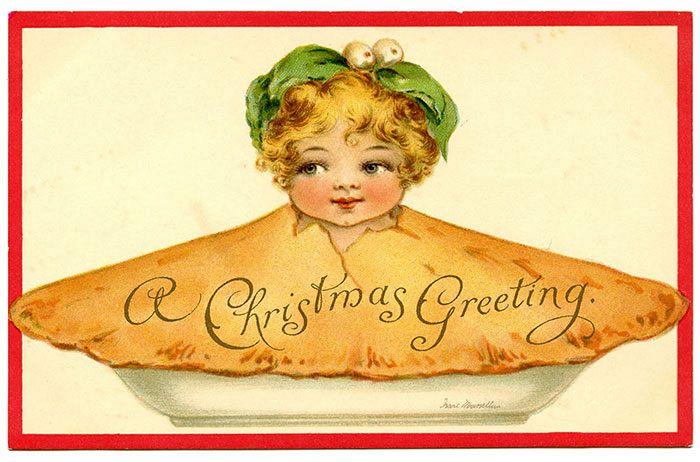 Фото №1 - 18 жутких старинных рождественских открыток