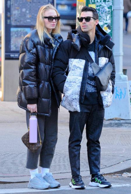 Софи Тернер и Джо Джонас в Нью-Йорке