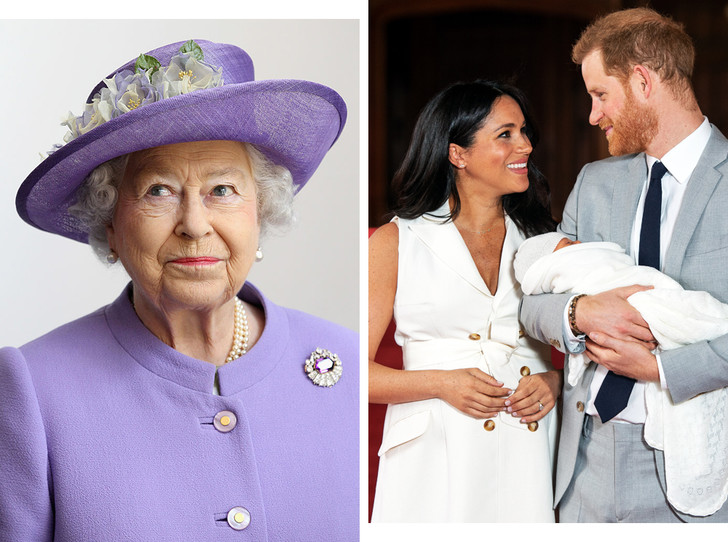 Фото №1 - Почему Королева пропустит крещение Арчи Сассекского