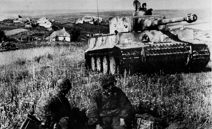 Фото №1 - Танковые асы Второй мировой: реальное видео танковых боев