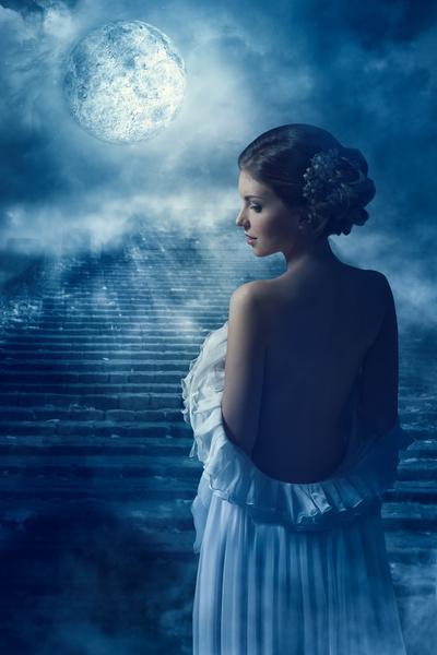 Фото №1 - Лунное затмение 5 июля: Девам— действовать, Овнам— затаиться