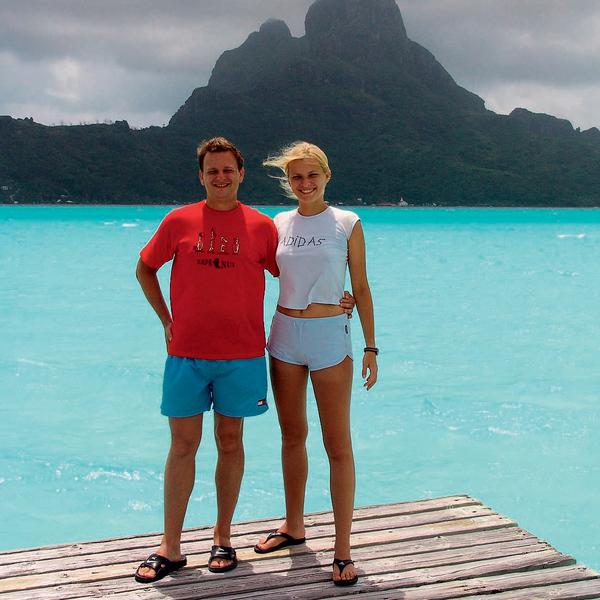 Остров Бора-Бора, как и Таити, — территория Франции, при этом находится он посреди Тихого океана.