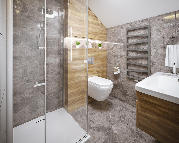 Фото №3 - 7 секретов, как вместить все необходимое в маленькую ванную