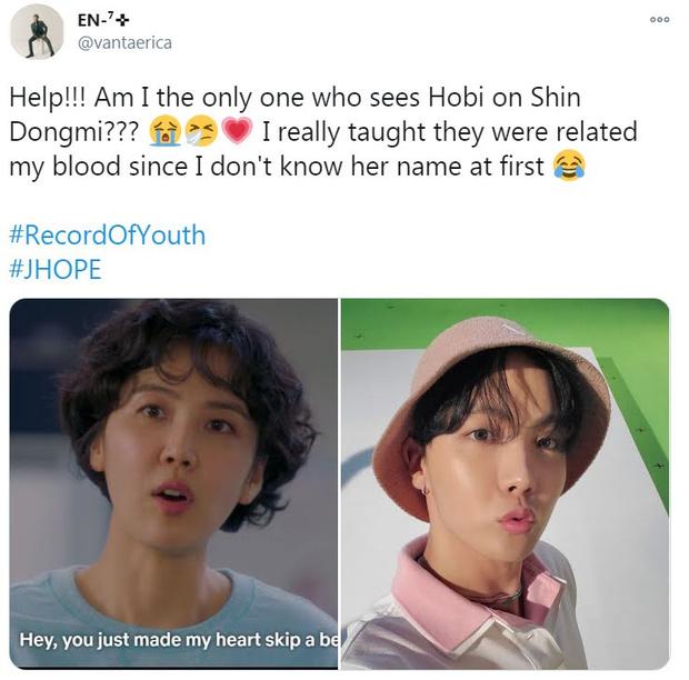 Фото №4 - В дораме «Записки юности» нашли двойника Джей-Хоупа из BTS