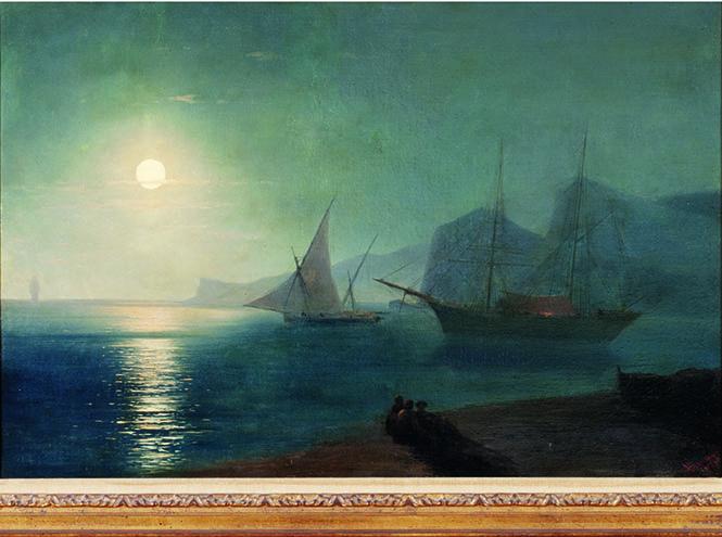 Айвазовский Иван Константинович, «Лунная ночь»,1875 год.