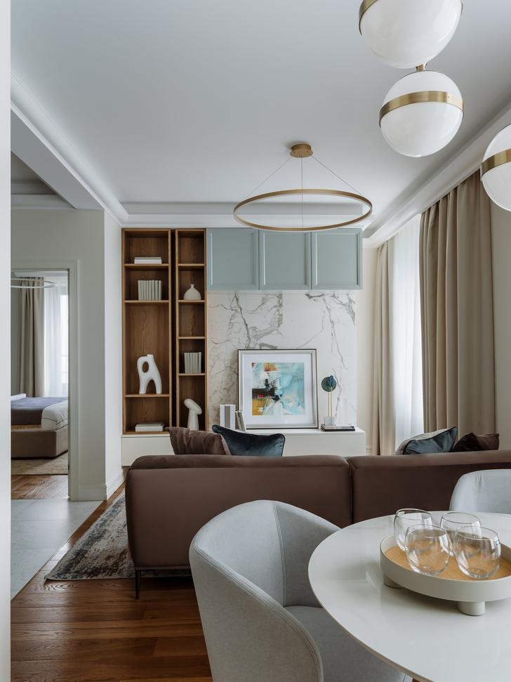 Фото №1 - Светлая квартира 60 м² для молодой пары из Петербурга