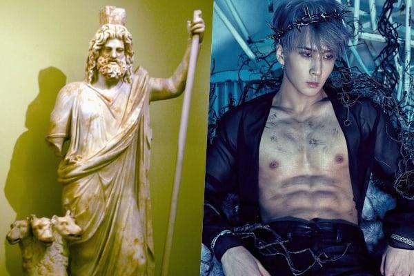Фото №3 - Глубокомысленный k-pop: 10 случаев, когда айдолы заимствовали образы из мифов Древней Греции