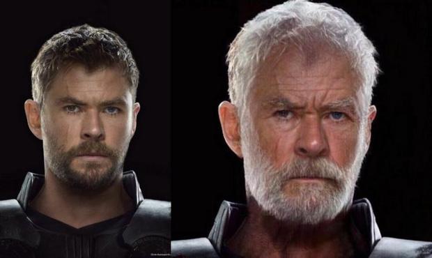 Фото №6 - Как выглядели бы «Мстители» в старости