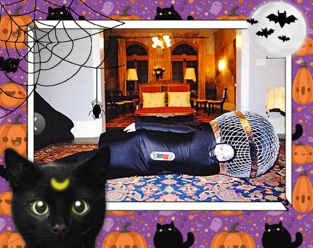 Фото №4 - Лучшие костюмы звезд с прошедшего Хэллоуина