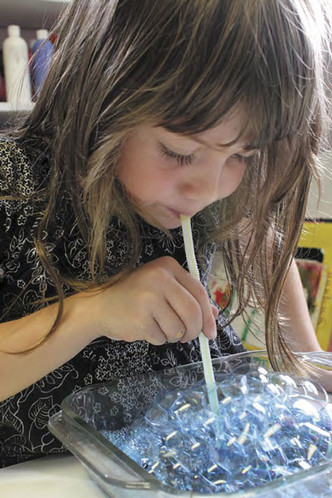 Фото №3 - Творческое воспитание. Следы мыльных пузырей