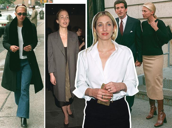 Фото №1 - Правила стиля Кэролин Бессетт-Кеннеди: безупречный минимализм из 90-х