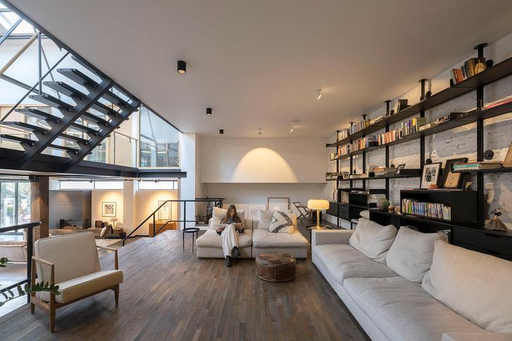 Фото №5 - Апартаменты в старом спортивном зале в Амстердаме