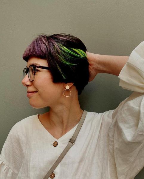 Фото №7 - Окрашивание для коротких волос: 10 идей
