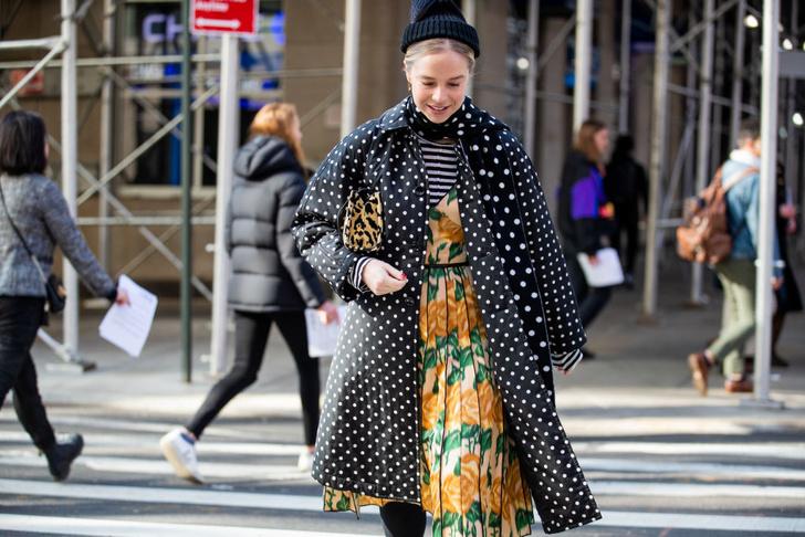 Фото №4 - Как носить гороховый принт в весеннем сезоне