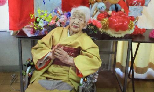 Фото №1 - 118-летняя японка, победившая рак и пережившая две пандемии, любит газировку и готовится нести факел Олимпиады
